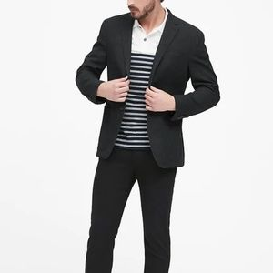 Banana Republic black suit blazer 40s